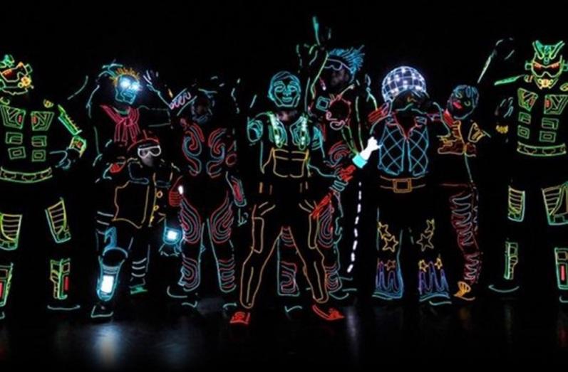 LED-kabel kostuum