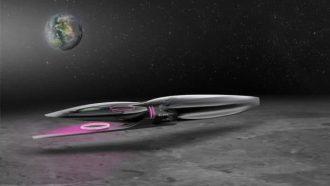 Lexus ruimtevaart voertuig