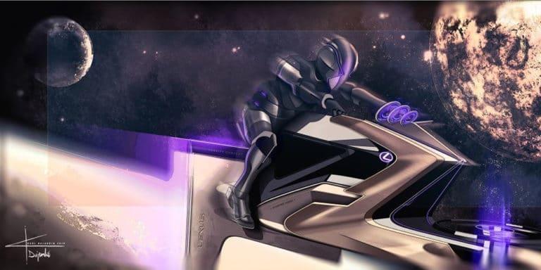 Lexus maan ruimtevoertuig
