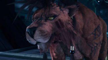 Red XIII final Fantasy VII Remake