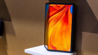 Huawei Mate Xs ontwerp