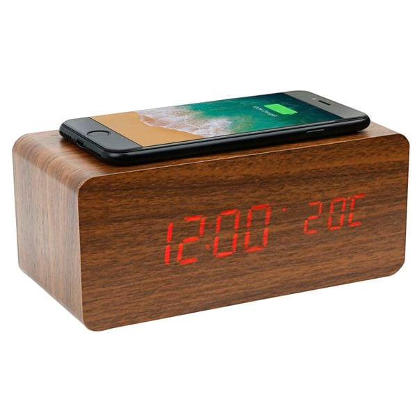 Kruidvat houten wekker QI