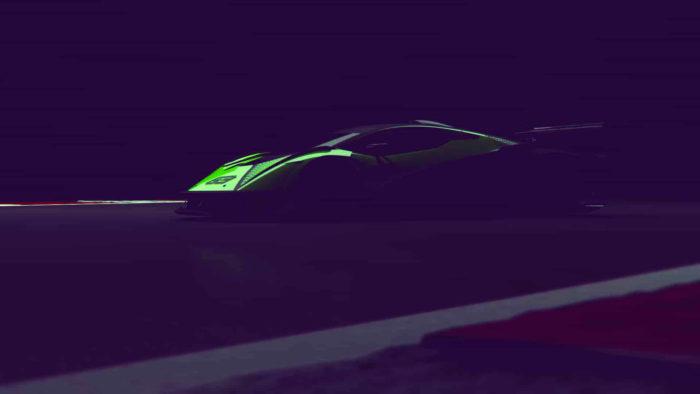 Lamborghini hypercar V12