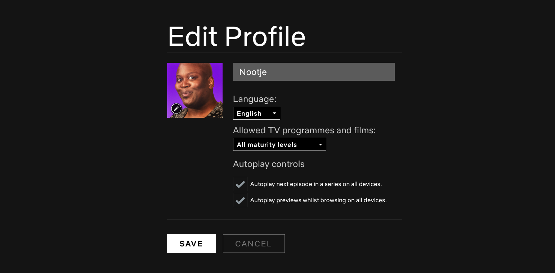 Netflix Autoplay functionaliteit