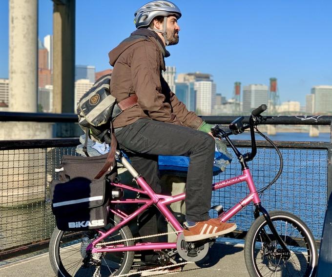e-bike elektrische fiets Kickstarter