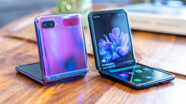 Samsung Galaxy Z Flip uitgelicht