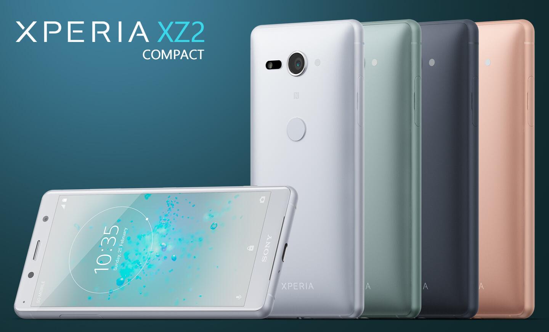 xperia xz2 compact kleine telefoon