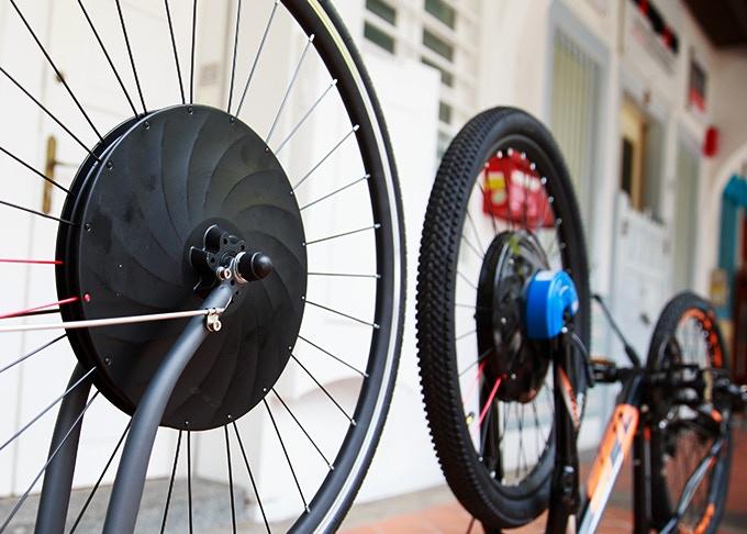 UrbanX Kickstarter Elektrische fiets e-bike