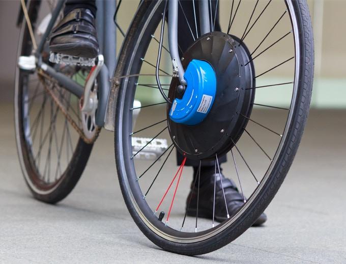 elektrisch voorwiel UrbanX Urbanext elektrische fiets