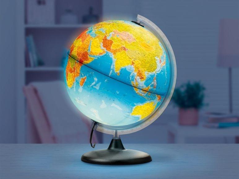 Verlichte wereldbol Lidl