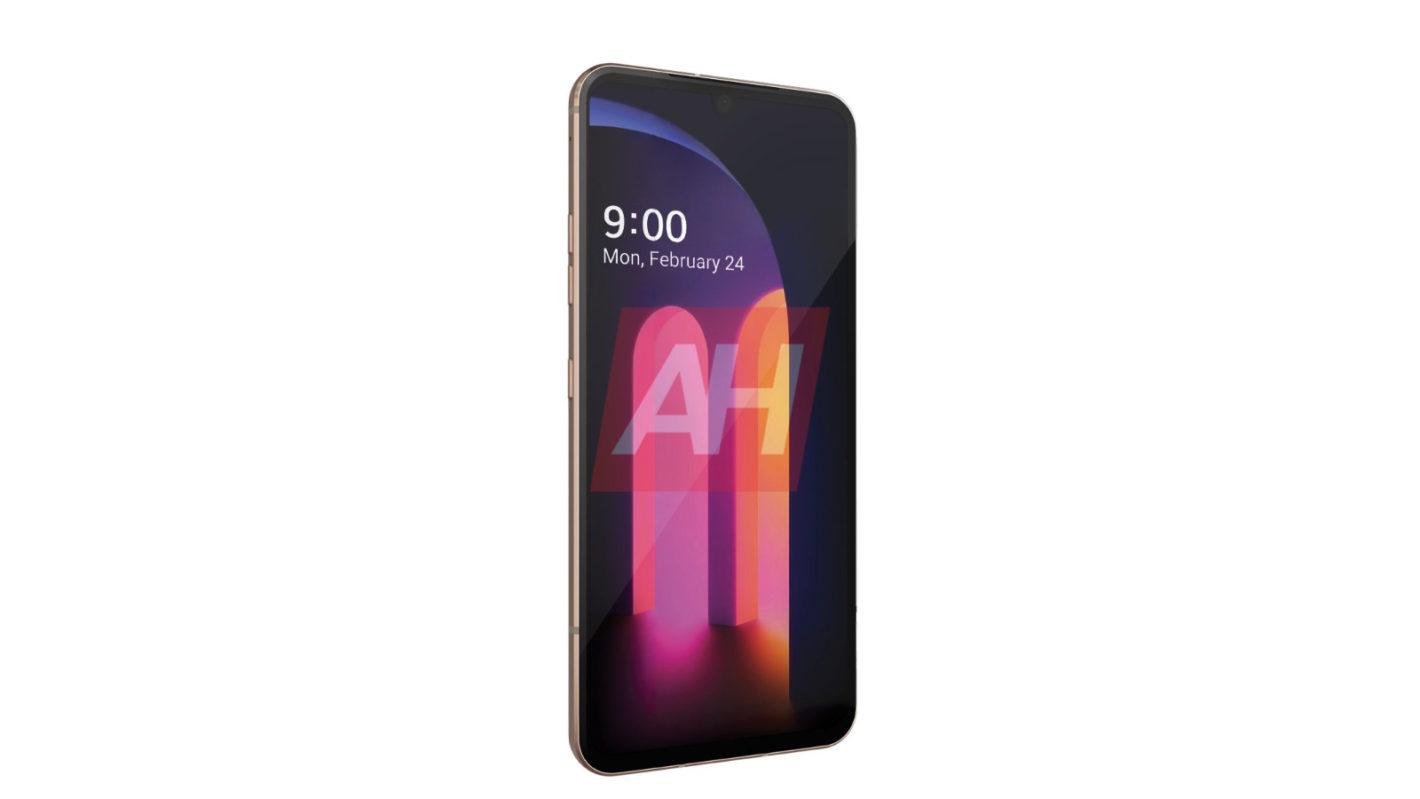 LG V60 ThinQ Render Android Headlines