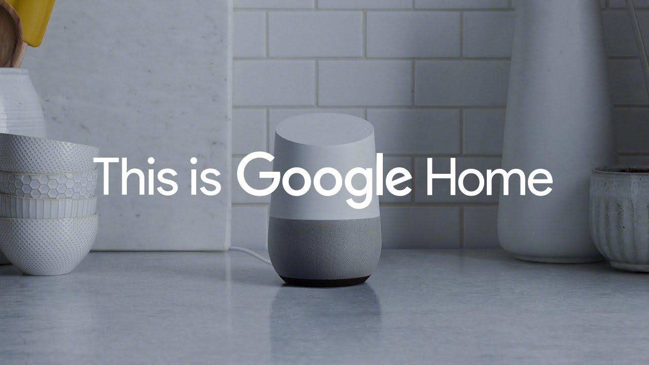 google home advertentie