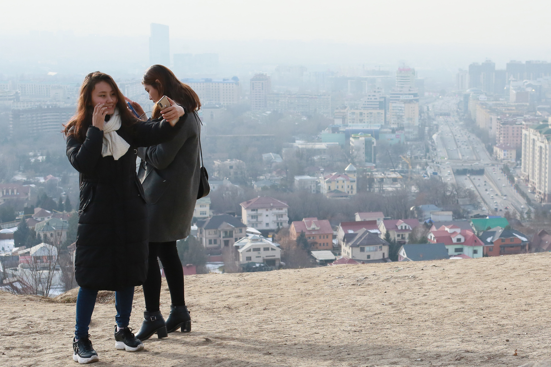 smog Kazachstan artikel NASA
