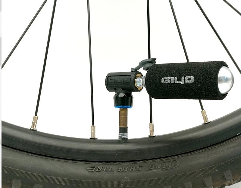 CO2 fietspomp AliExpress