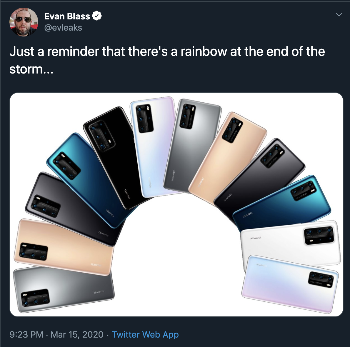 Huawei P40 kleurenvarianten