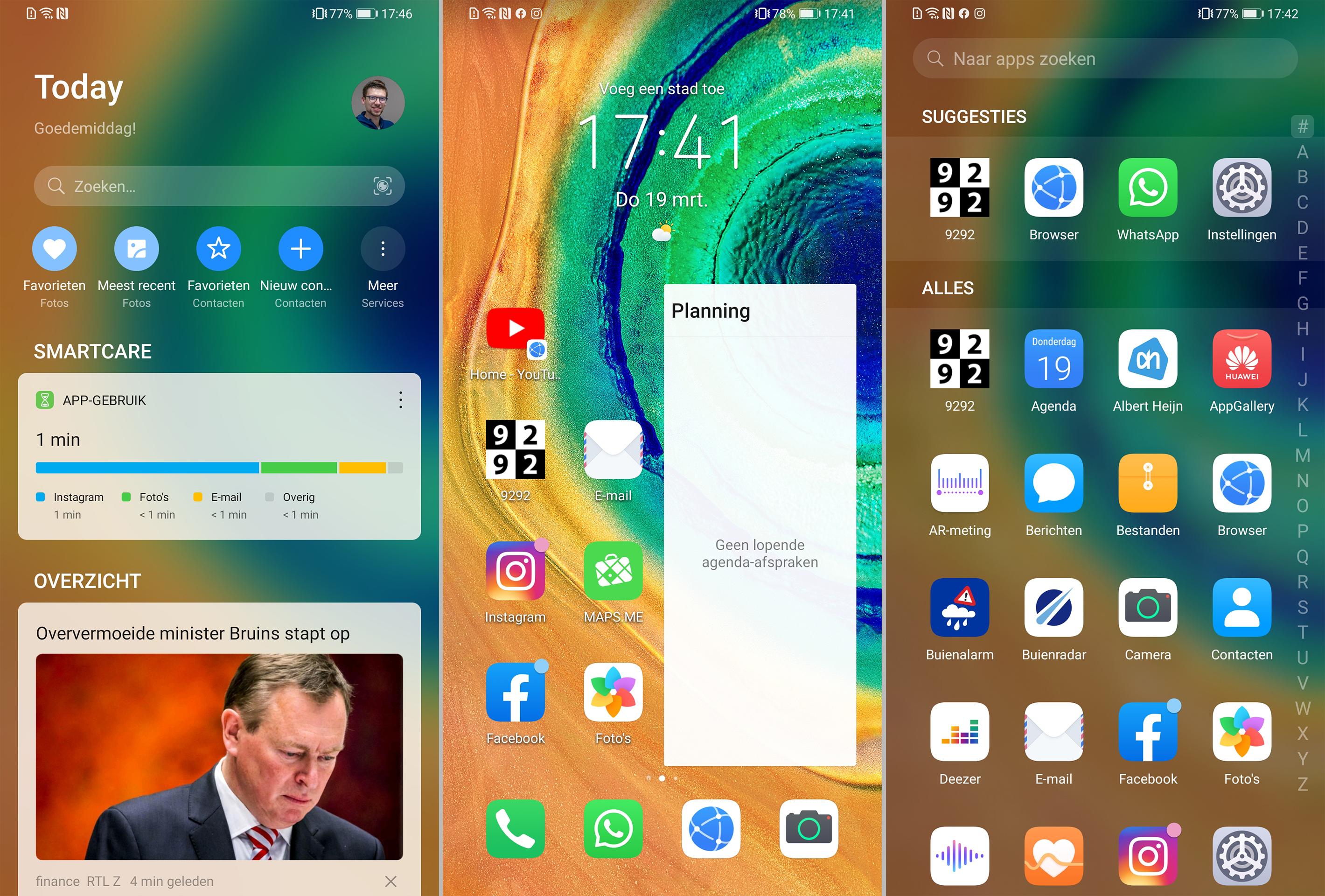 Huawei Mate 30 Pro Screenshot EMUI