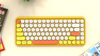 AliExpress toetsenbord typemachine stijl