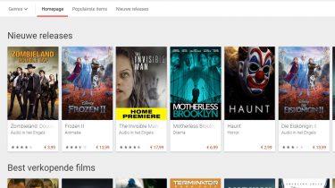 Google Play Movies gratis films