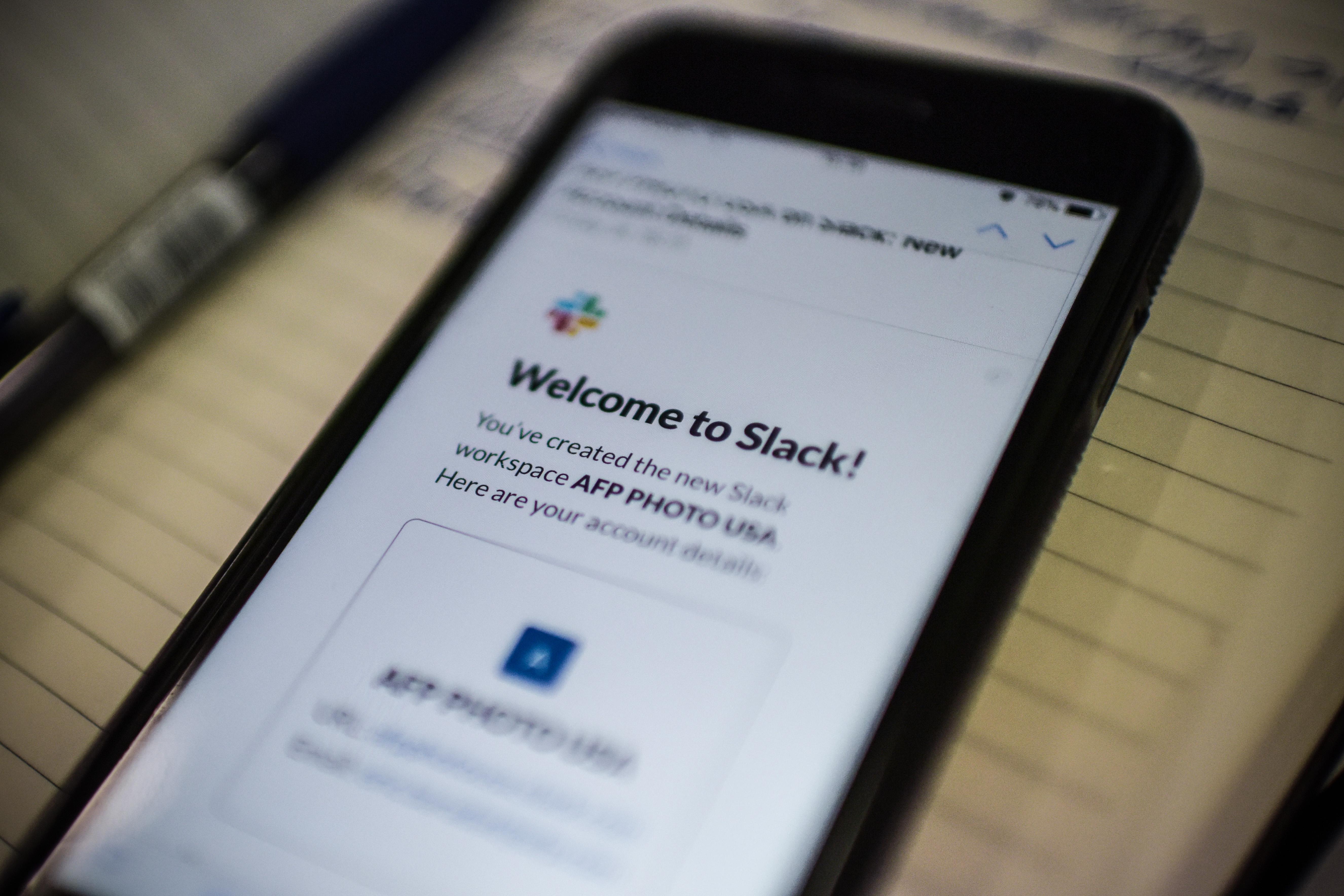 Slack app smartphone thuiswerken