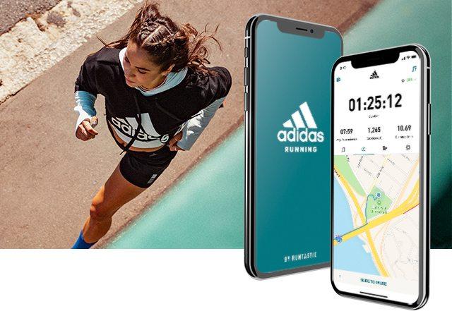 Adidas Runtastic hardloop app