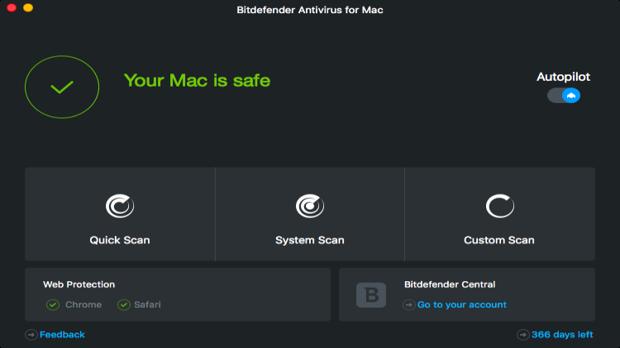 Bitdefender Virus scanner Mac