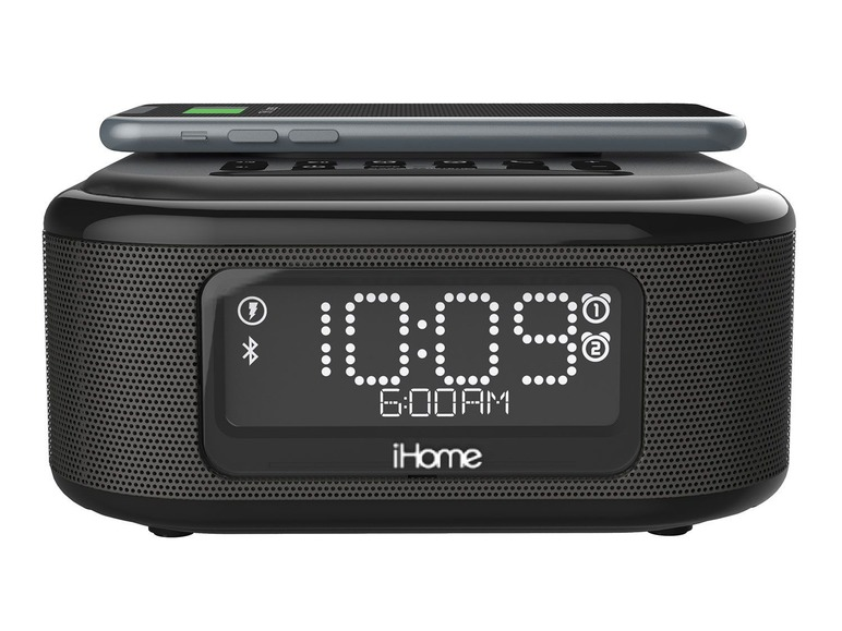 Bluetooth wekker speaker QI lader Lidl