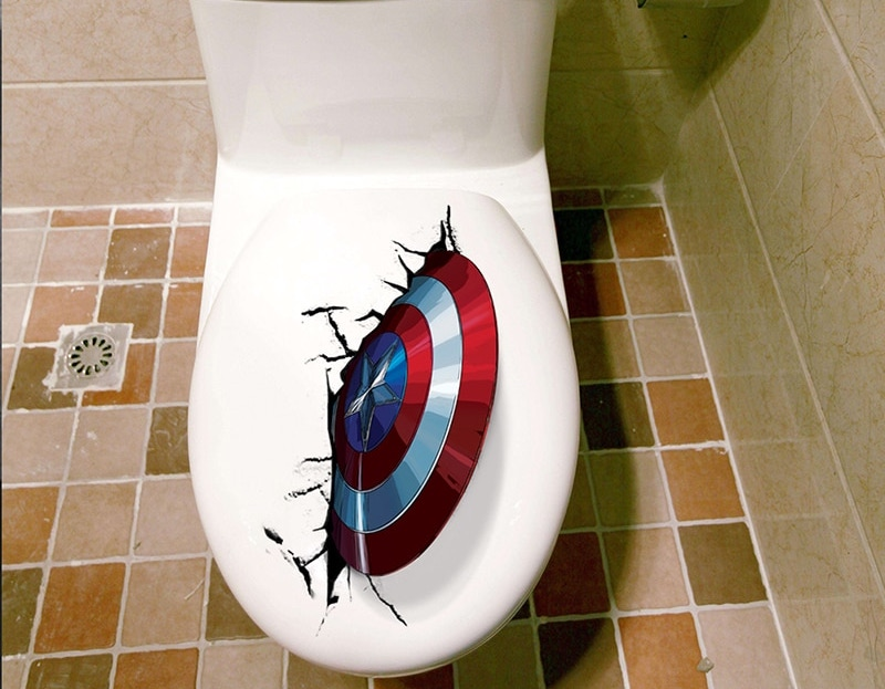 Captain America marvel AliExpress wcsticker