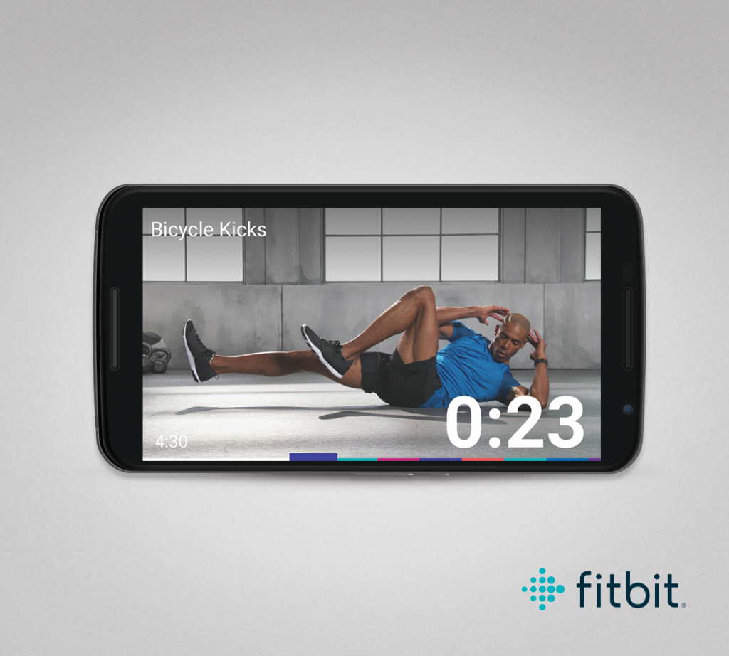 Fitbit Coach fitness app Android