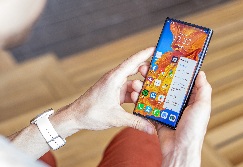 Huawei Mate Xs review gebruik telefoon