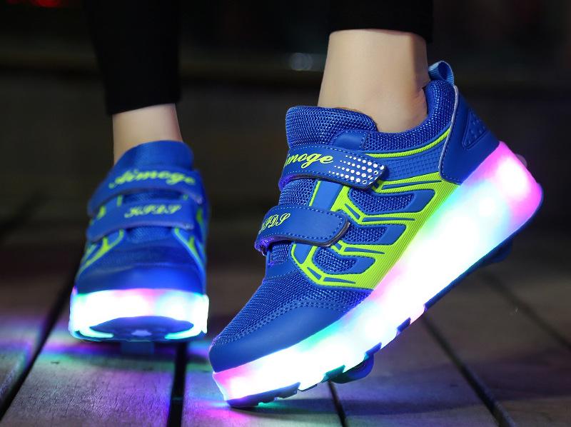 LED-sneaker wieltjes