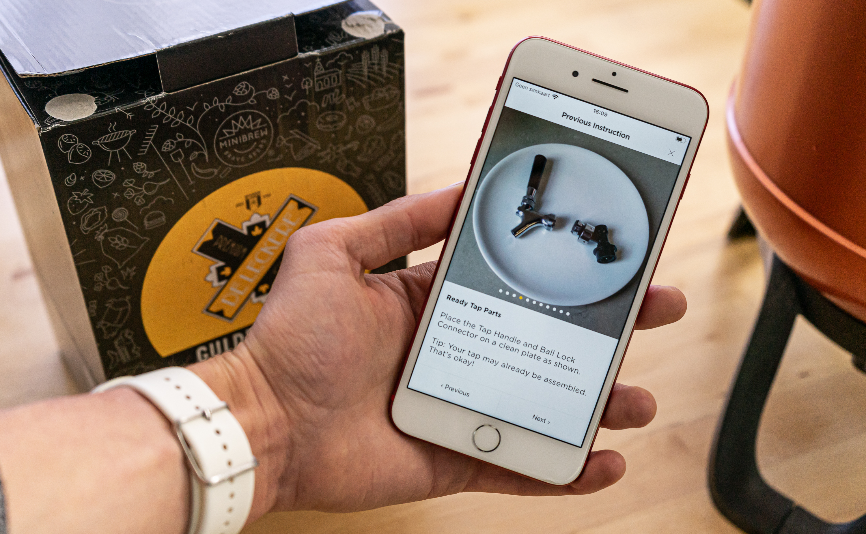 MiniBrew app uitleg