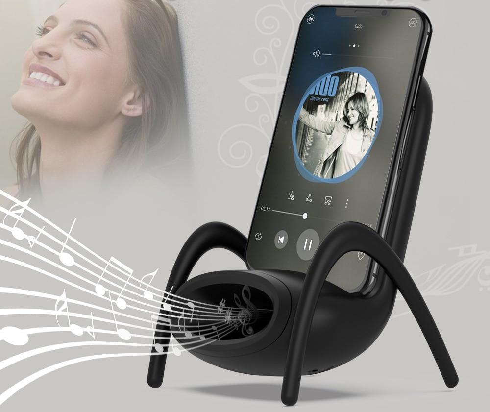Bluetooth speaker qi oplader
