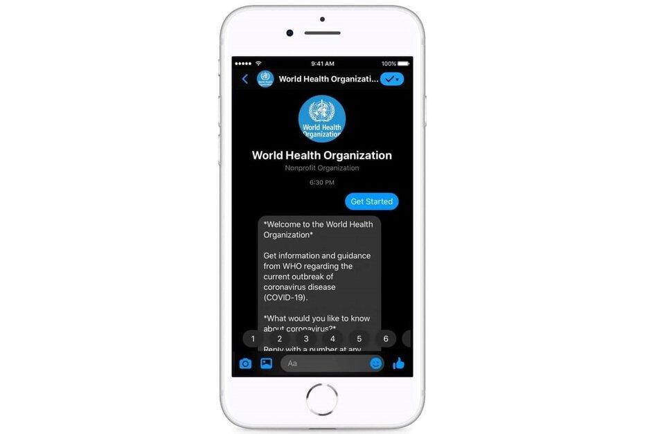 Facebook Messenger-chatbot