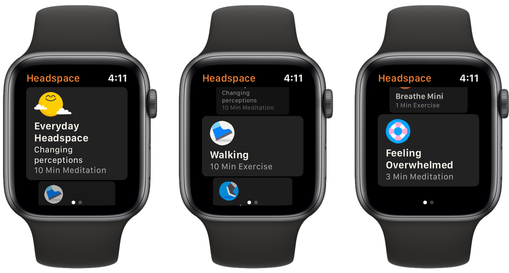 headspace apple watch