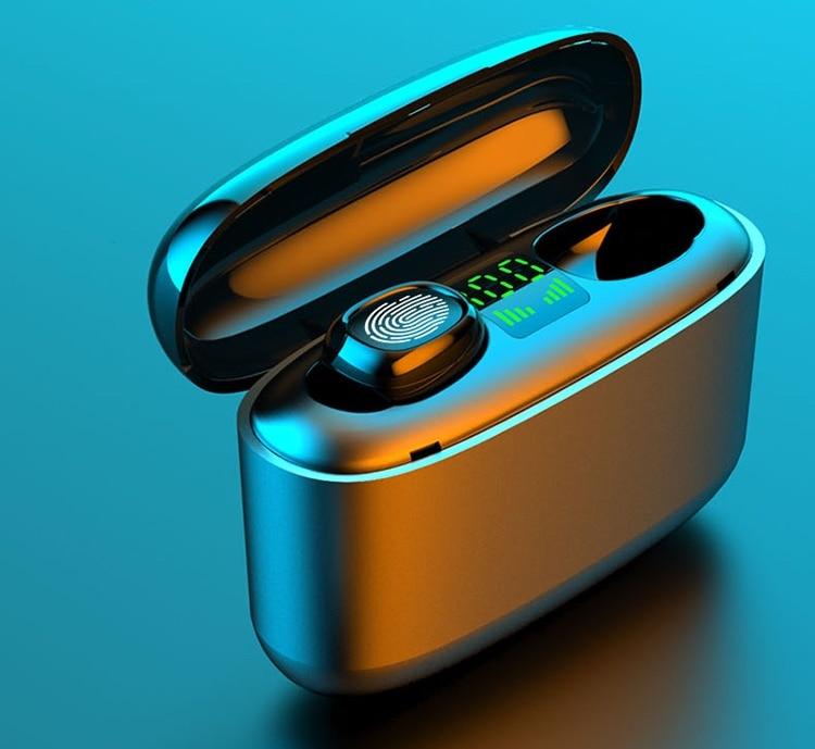 Bluetooth oordopjes AliExpress touch vingerafdruk