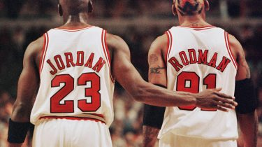 Michael Jordon Dennis Rodman The Last Dance