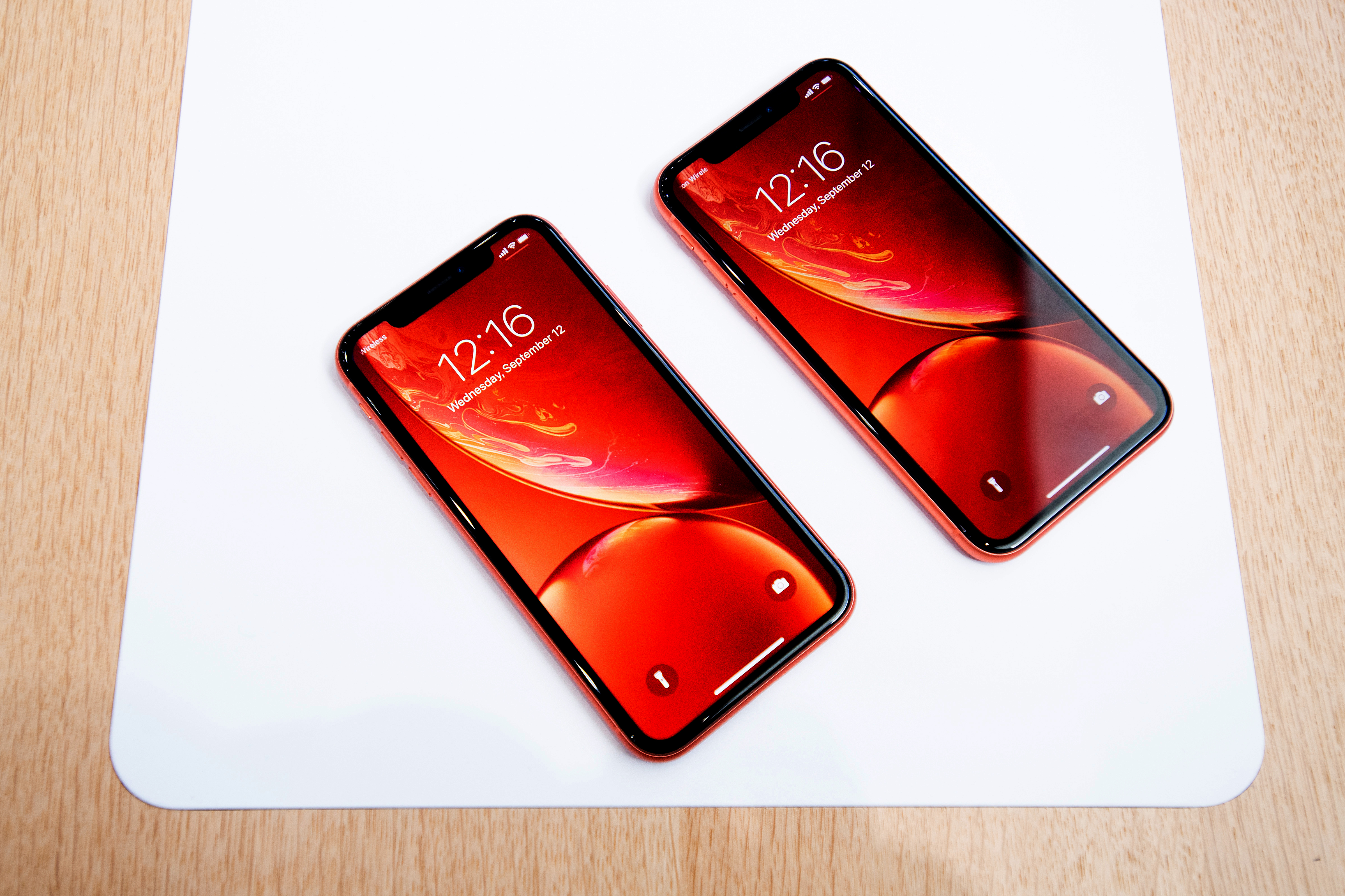 Apple iPhone XR beelscherm krassen