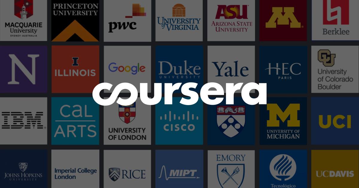 Coursera gratis online cursussen