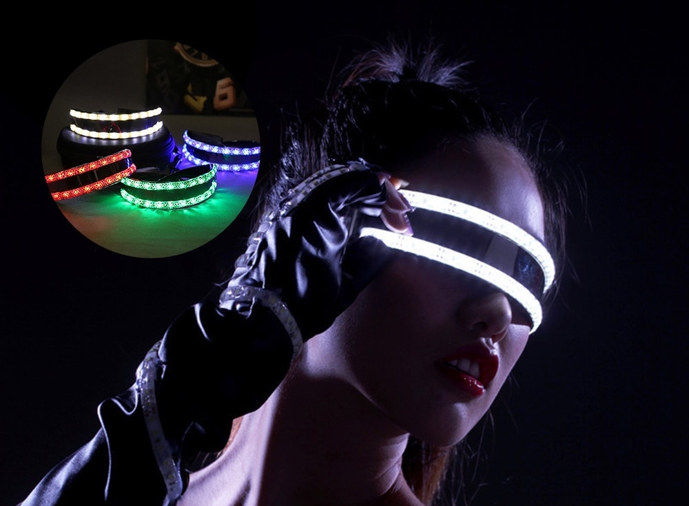 AliExpress LED-bril party