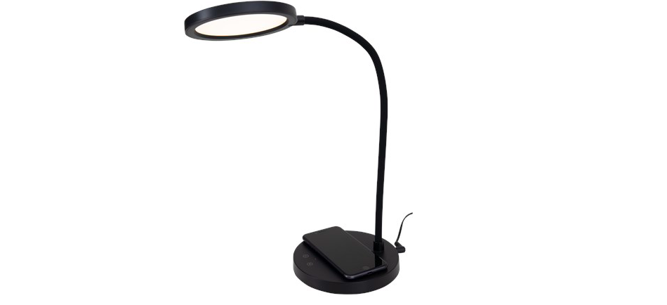 Action LED bureaulamp oplader QI