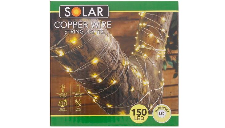 solar koperdraadverlichting Action