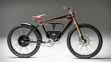 Vintage Electric e-bike scrambler
