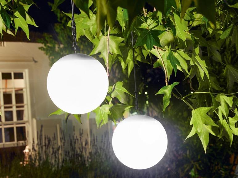 LED-solarlamp Lidl