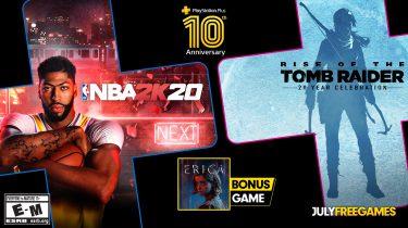 PlayStation Plus juli