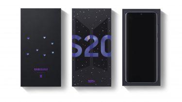 Samsung Galaxy S20 BTS