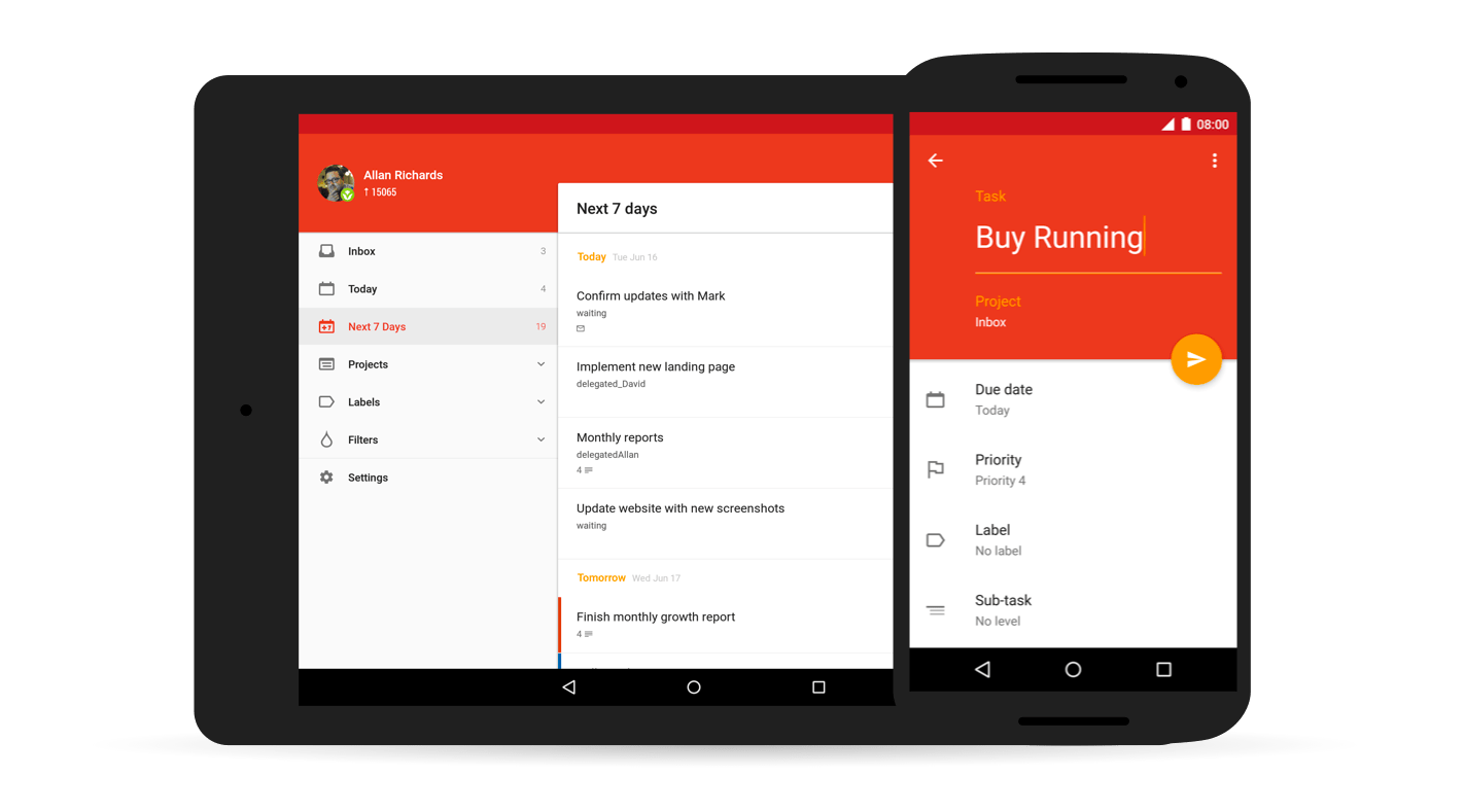 to-do app Android Todoist