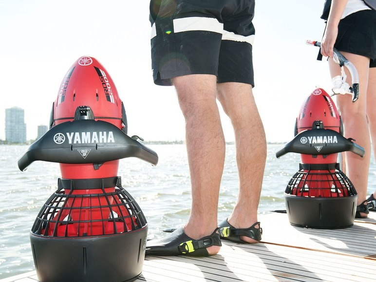 Yamaha Seascooter RDS200 onderwaterscooter Lidl