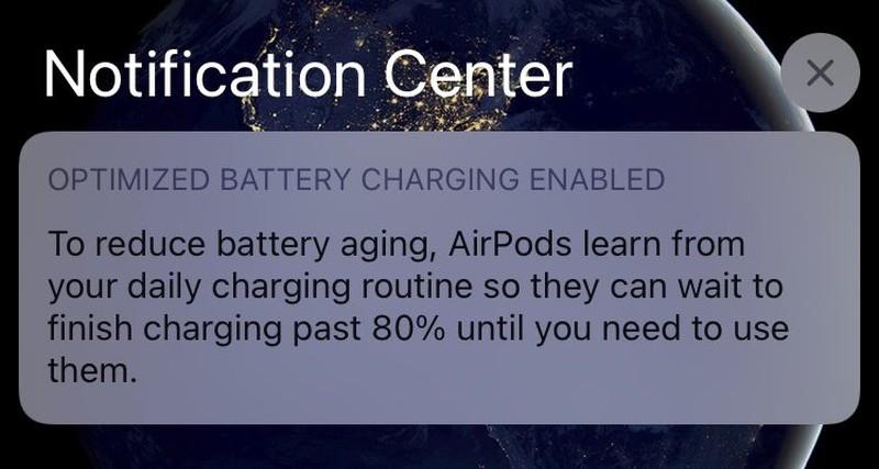 AirPods accu