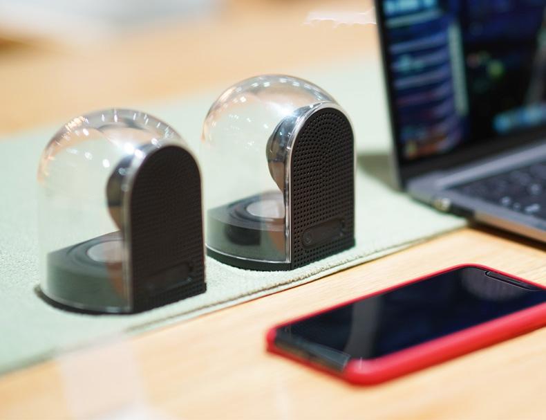 transparante hifi speaker AliExpress