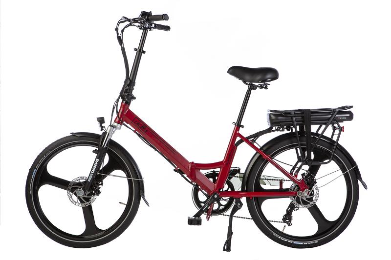 Lactros e-bike elektrische vouwfiets